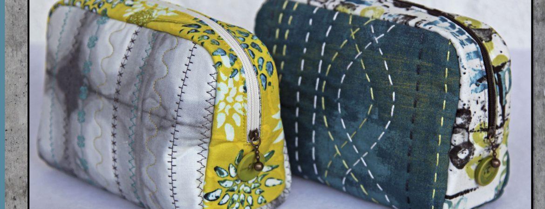 Stor reiseveske | Bente Malm Quilte Design